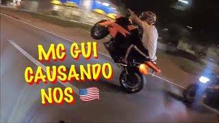 MC GUI NO GRAU DE Z1000 NOS EUA, CAUSANDO EM ORLANDO !   BUW LIFE  
