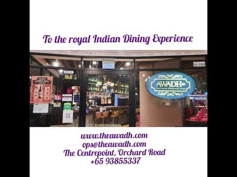 AWADH: The Legacy of Lucknow Culinary Delights