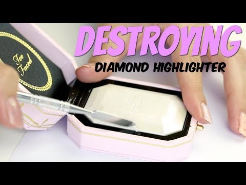 Destroying the Too Faced Diamond Highlighter | THE MAKEUP BREAKUP