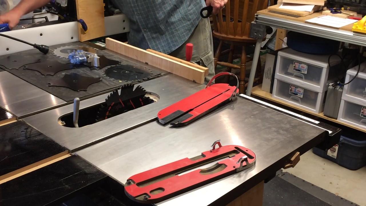 Sawstop Cartridge Change Saw Palmetto For Bph Wiring Diagram Ep 27 Blade