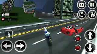 Police Motorbike 3D 2018 Simulator - Androi Gameplay - Motor Bike Games For Kids
