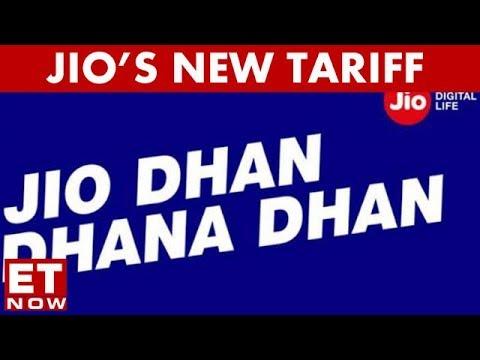 Reliance Jio Unveils New Dhan Dhana Dhan Tariff Plans