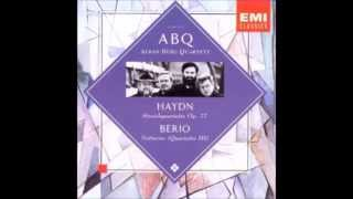 Haydn string quartets op.77 no 1-2