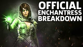 Injustice 2 Gameplay: Official Enchantress Moveset and Breakdown