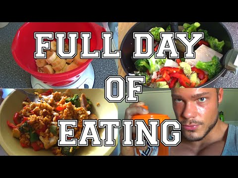Full Day of Eating #02 | Bodybuilding Meals | Information, Diet, Macros, Training and More!