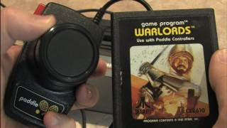 Classic Game Room HD - WARLORDS for Atari 2600 review