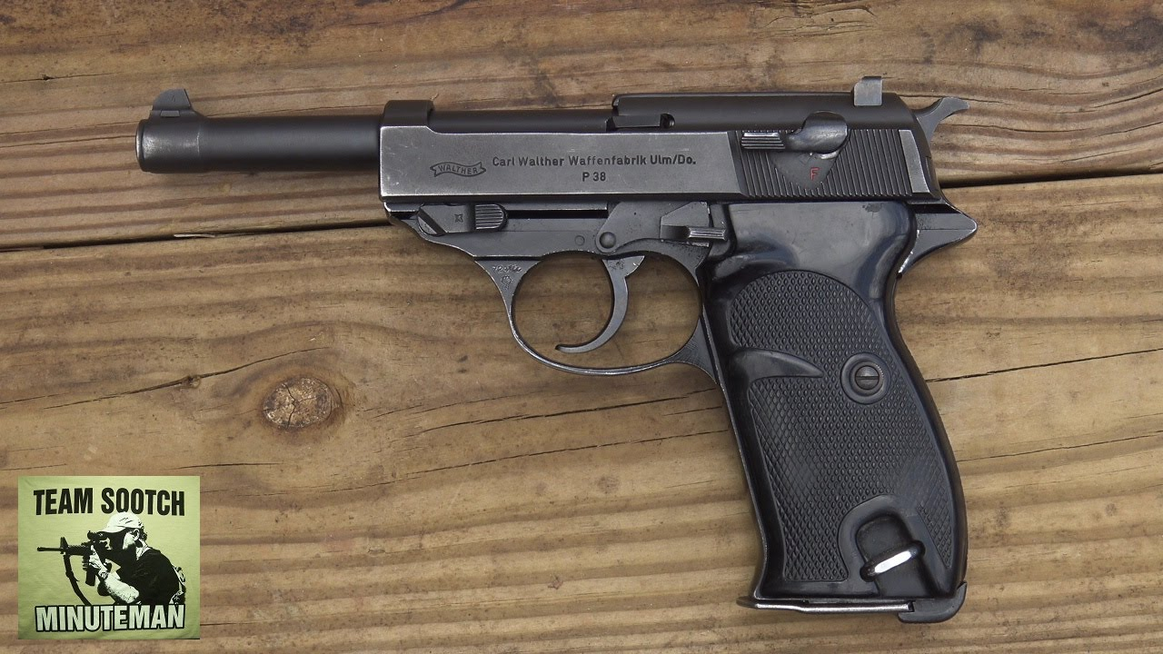 Walther P38 / P1 9mm Pistol Review - YouTube
