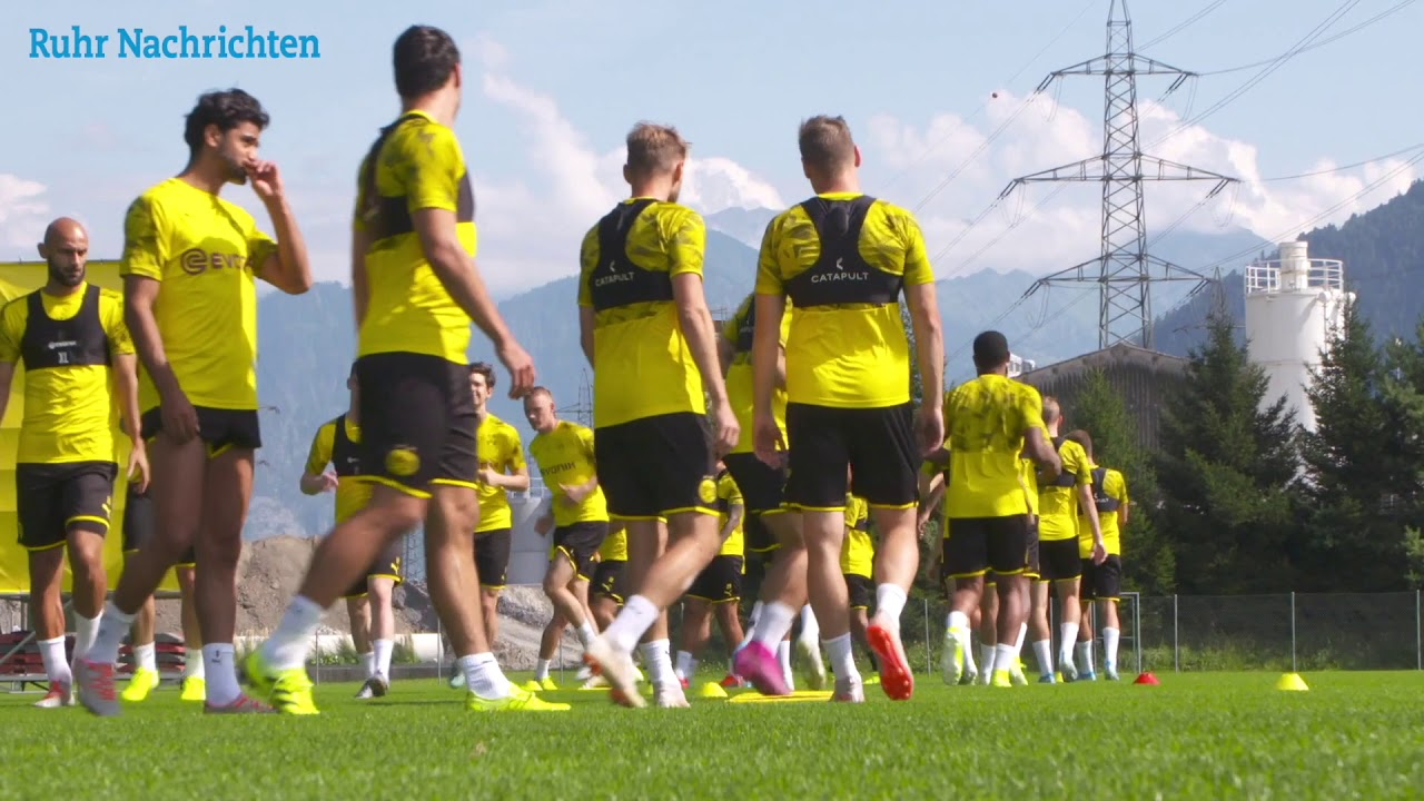 Öffentliches BVB-Training in Bad Ragaz am 1. August