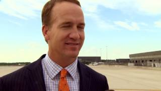 Mike Klis interviews Peyton Manning after White House visit