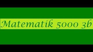 Matematik 5000 Ma 3b  Ma 3bc VUX Kapitel 3 Kurvor derivator integraler Största o minsta värde 3142