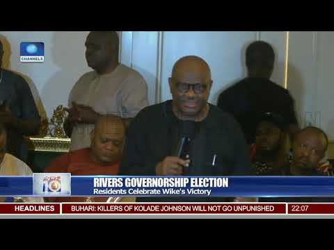 Rivers Gov'ship Election: Wike Gets Emotional, Dedicates Victory To God