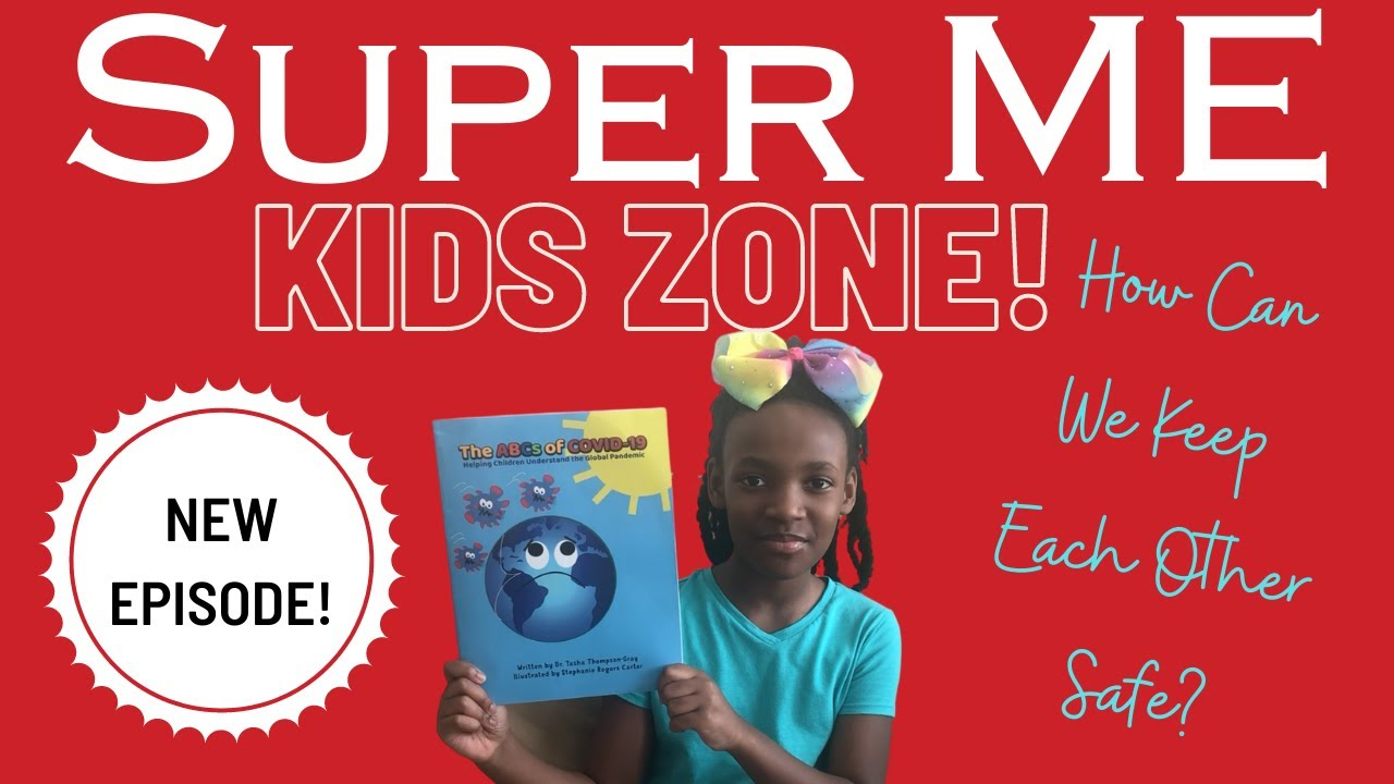 ABCs of COVID-19 featured on Super Me Kids Zone! with Super Syd
