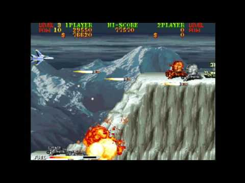 Carrier Air Wing (Arcade) (World 901012)- FULL PLAYTHROUGH #1 (F-14 Tomcat)