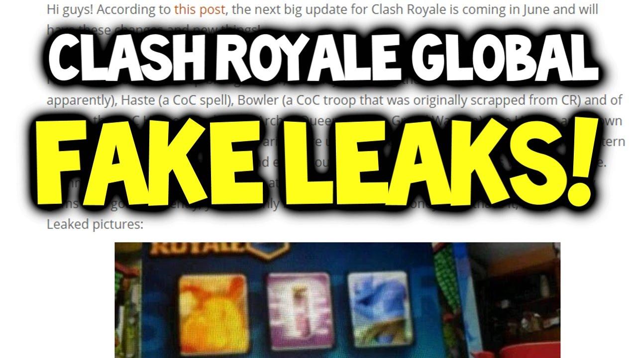 Clash Royale Fake