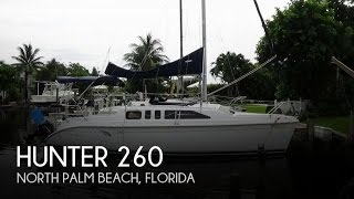 Used 2004 Hunter 26 for sale in North Palm Beach, Florida