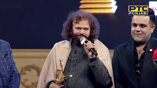 Hansraj Hans Gets Lifetime Achievement Award at PTC Punjabi Music Awards 2018 (7/19)