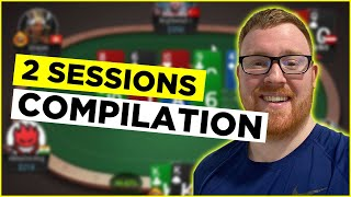 WAITING FOR SOME HIGH STAKES ACTION! GingePoker Stream Highlights