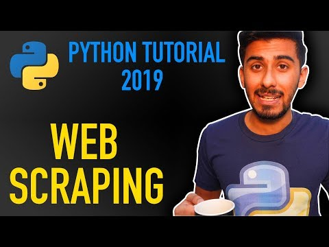 20 - web scraping with python using beautiful soup & requests (Python tutorial for beginners 2019) thumbnail