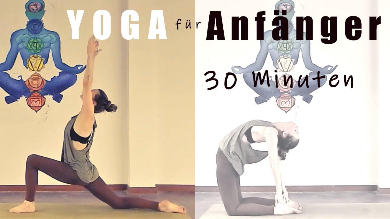 Hatha Yoga Fur Anfanger 30 Minuten Home Workout Ohne Equipment Youtube