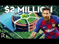Inside Lionel Messi's $2 Million Soccer Ball Shaped Home