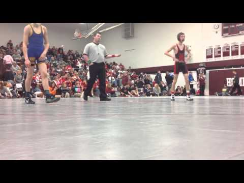 Neligh Invite   Cole Laible vs Logan HennElgin Pope John