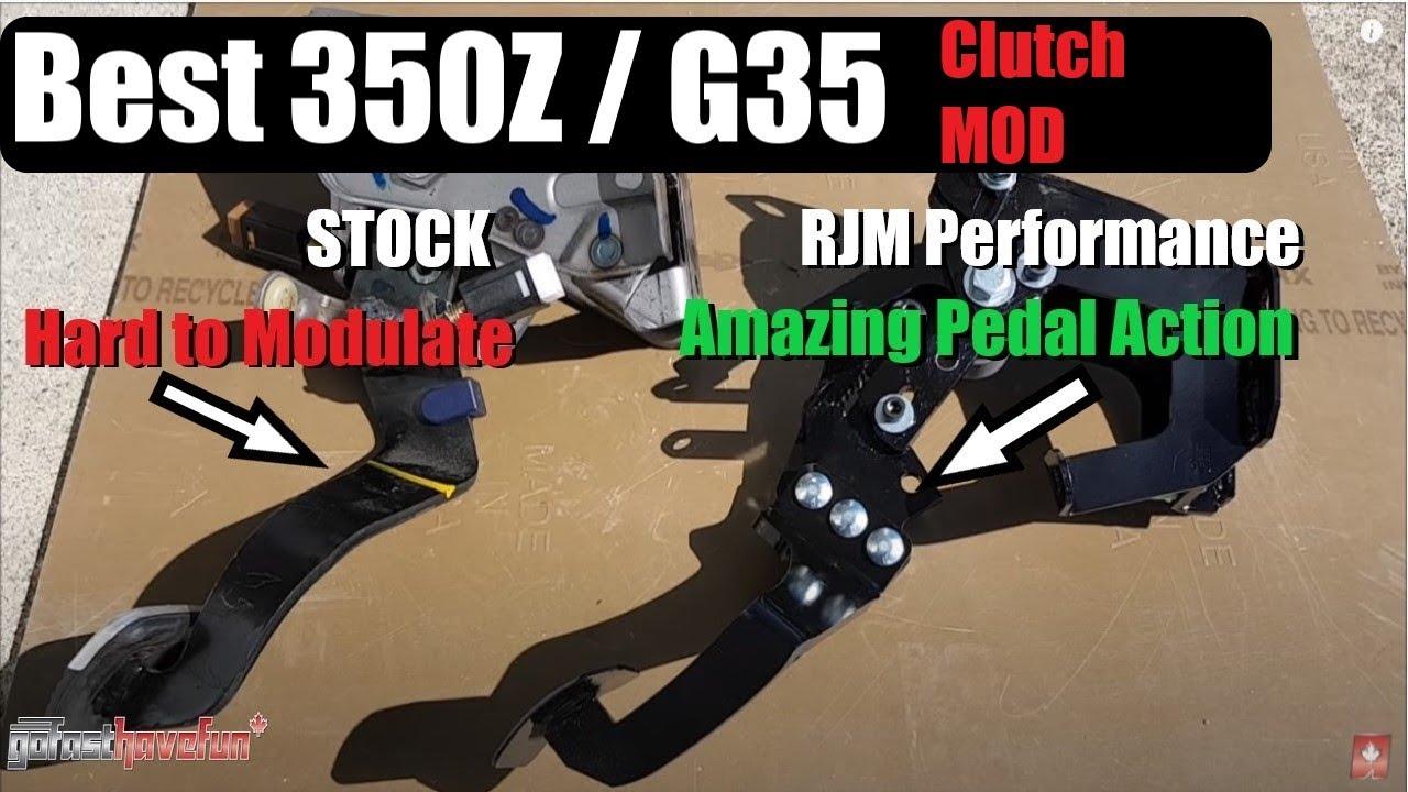 350Z & G35 AFP Clutch Pedal Kits
