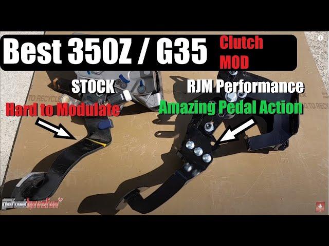 350z rjm clutch install