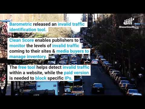 Ad Ops Industry News: Barometric's Search Tool Monitors Invalid Web Traffic For Publishers.