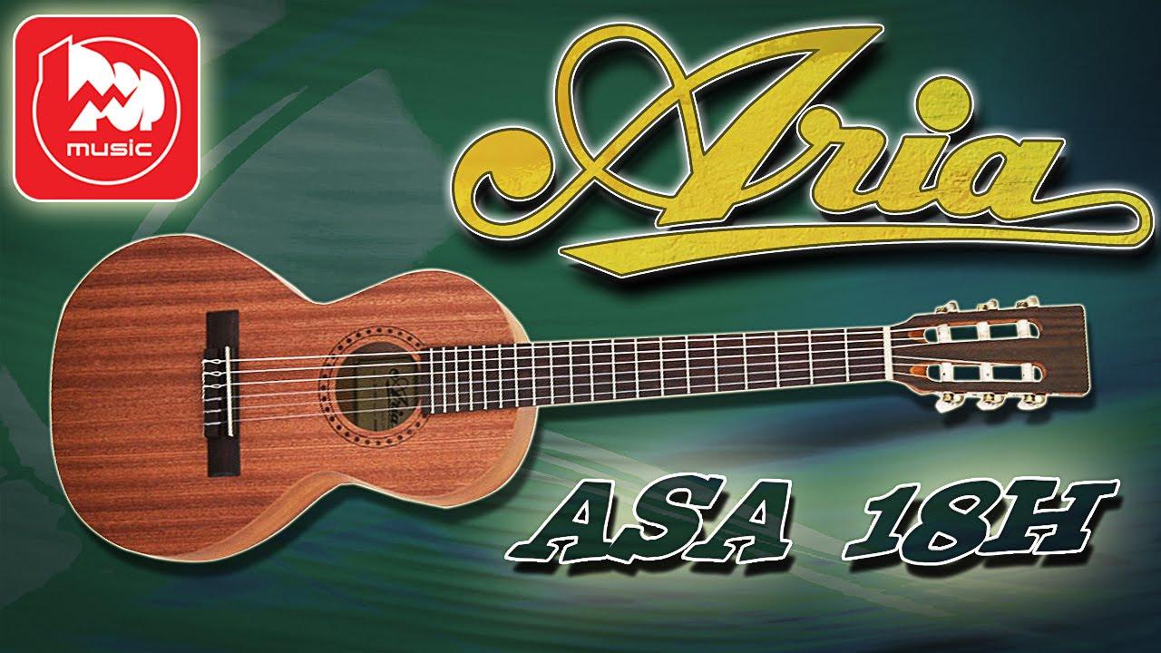 Акустическая гитара ARIA ASA-18H N (компактная гитара для .