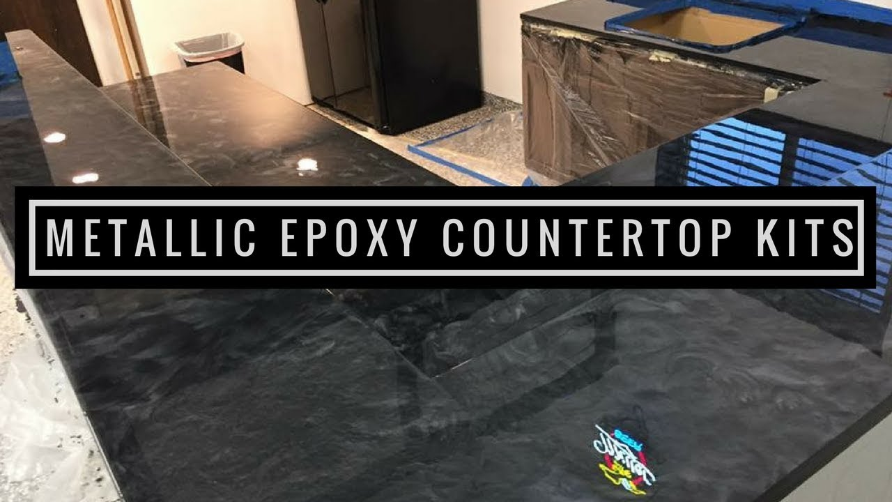 Metallic Epoxy Diy Customer Install 3 Countertop