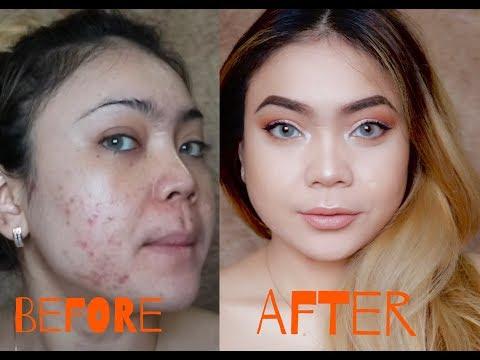 Tutupi Jerawat dengan Makeup Murah DRUGSTORE | SADDY AULIA