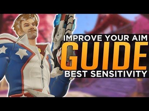 Overwatch: Improve Your AIM! - Sensitivity & Training Advanced Guide