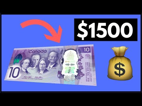 Canadian Bills Worth Money