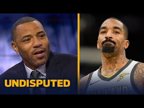Kenyon Martin on the Cavs' Chaos: JR Smith's suspension and Jordan Clarkson's ejection | UNDISPUTED