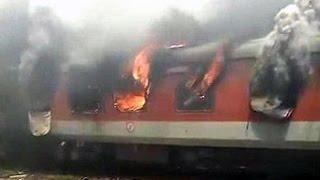 Fire on 2 Rajdhani Express trains at New Delhi railway station; no casualties