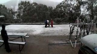 Thredbo|rain turns to snow|3pm Wed 22nd July