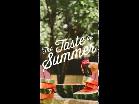 """Coca-Cola: """"Watermelon"""" Snapchat Ad"""