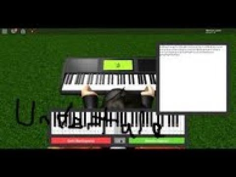 Once Upon A Time Undertale Roblox Piano Keyboard V1 1 Youtube