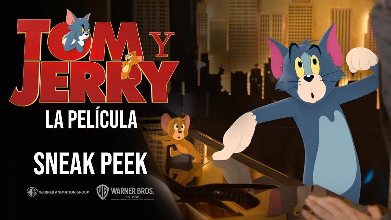 Tom Y Jerry La Pelicula Avance Exclusivo Cartoon Network Youtube