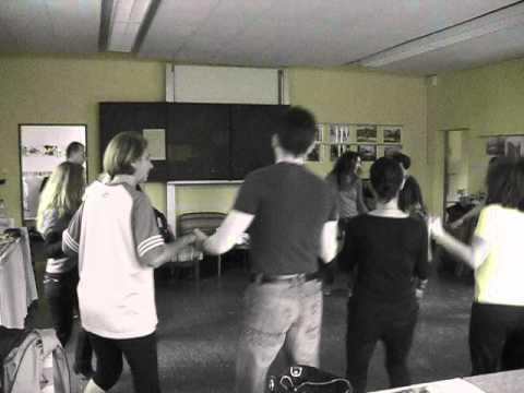 Der Tanzkurs für bulgarische Volkstänze im deutsch-bulgarischen Verein in Essen