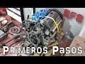Peugeot 205 GTi-6 / RFS Restomod #2: ¿Por dónde empezar? Soportes y referencias de motor y cambio