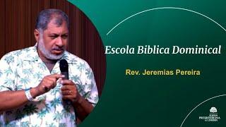 Contentes em toda e qualquer situação - Filipenses 4. 9-19 - Rev. Jeremias Pereira