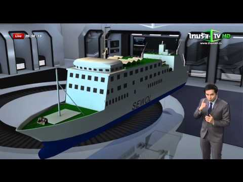 Special news - Sewol's sinking - Thairath tv channel.