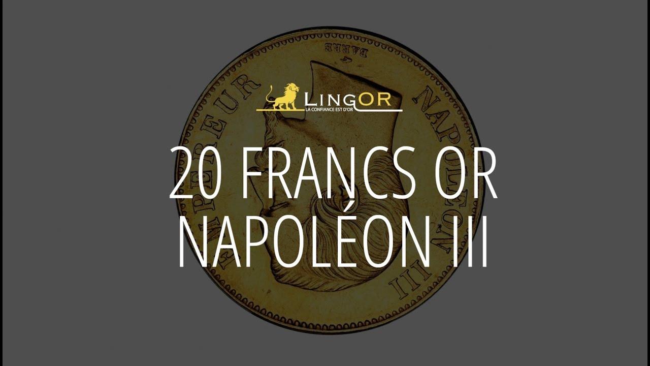 Achat pièce Or 20 Francs Napoléon