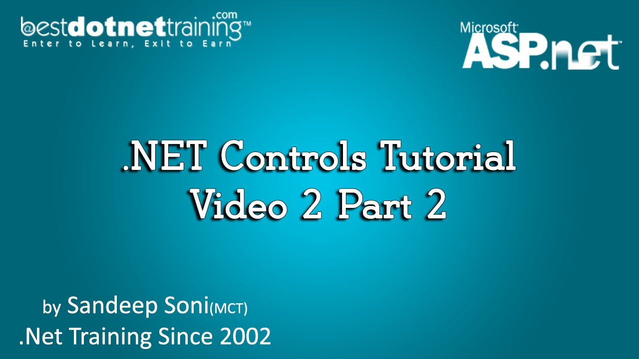 Dot net tutorial online course video lectures by other.
