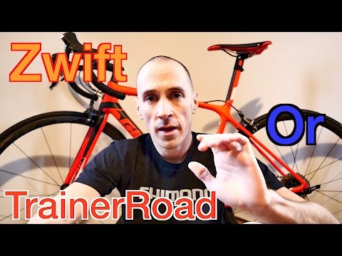 Zwift or TrainerRoad... Which Program Is Right For You ??