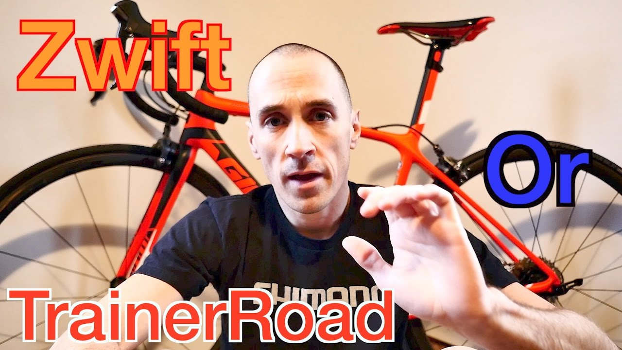Zwift or TrainerRoad    Which Program Is Right For You ??