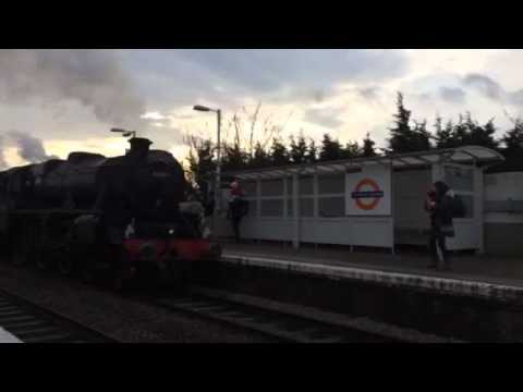 Steam Train leytonstone high road