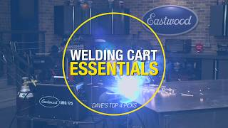 Four Things to ALWAYS Keep on Your MIG Welding Cart! What are YOUR Must-Have Tools? Eastwood