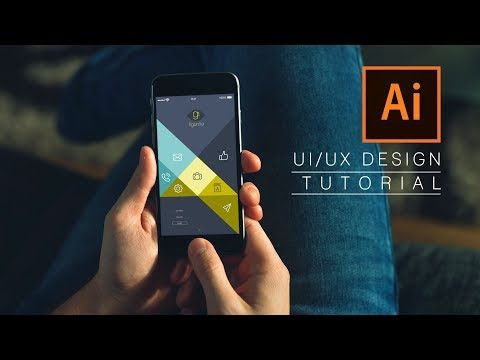 UI/UX Design | Adobe Illustrator cc 2017 | Mobile Apps Design